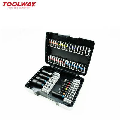 43pc Bit Set Ideal for Universal Screwdriving Jobs