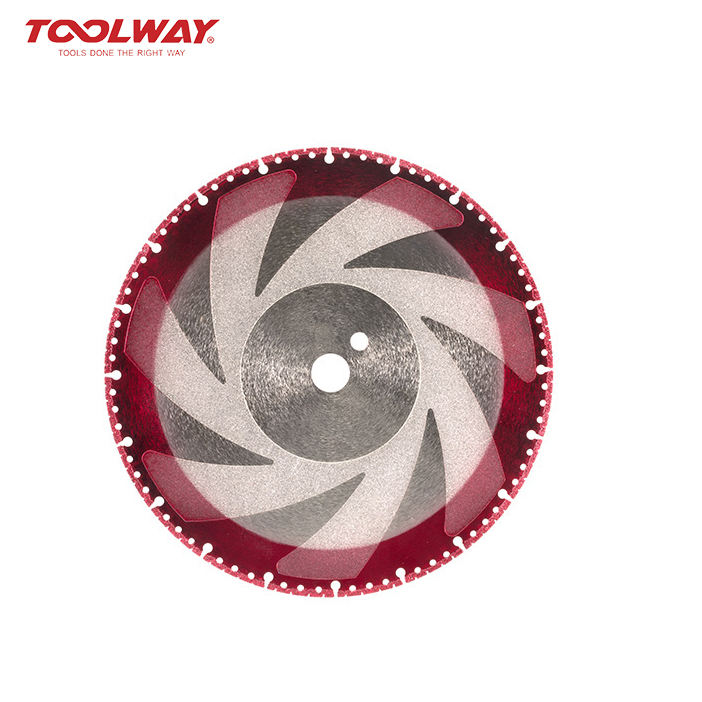 Vacuum Brazing Diamond Multifunction Saw Blade for various materials